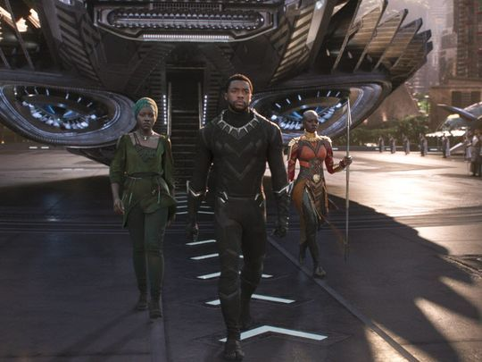 Black Panther - King T'Challa, Nakia and Okoye